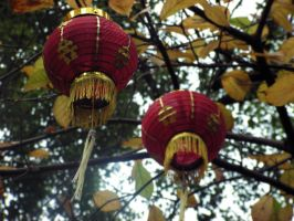 Lanterns in the Breeze by Scout73