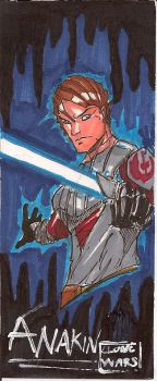 Anakin sketch card by JoeyVazquez