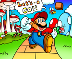 Just Another Normal Mario Day by JamesmanTheRegenold