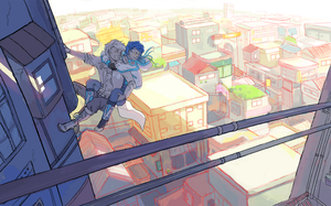 Dmmd - Rooftops by Sayuri1314