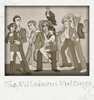 TDAS - The Villainous Vultures by sallychan