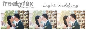 Light Wedding - Lightroom Preset by FreakyF0x