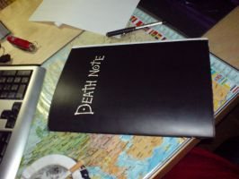 Selfmade Death-Note notebook by g3ko