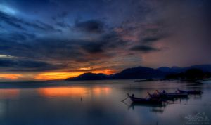 Sunset of PDL, Penang - 021112 by fighteden