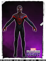 MARVEL Future Fight - Spider-man (Miles Morales) by DatKofGuy