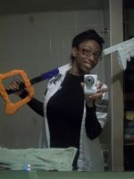 Sora's Keyblade Done! Pics by Linked-Memories-21