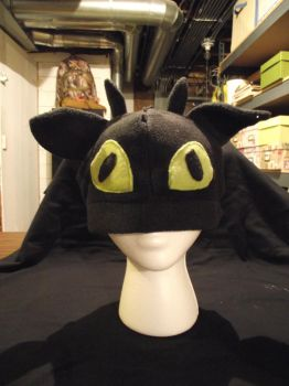 toothless the dragon hat by M00nStorm