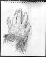 sketch of my left-hand 1 by Cinnamon6