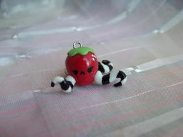 strawberry with tentacles by CuteTanpopo