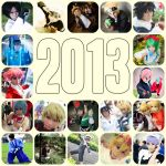 2013 Summary and Happy New Year! by bluevioletapples