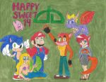 Happy Sweet 14 by BubbliciousAirheads