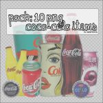 10 Png Coca-Cola items. by mylightbluesky