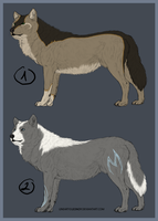 Wolf Adoptables CLOSED by Cerral