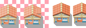 Hoenn oldale town houses by CNickC