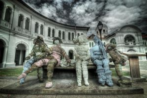 hdr - 1 happy family by mayonzz