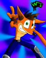 Crash-The Basher-Bandicoot by Dr-Shitsubo