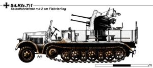 Sd.Kfz.7.1 by nicksikh
