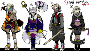 Urban Youkai Boy adopts [CLOSED] by azume-adopts