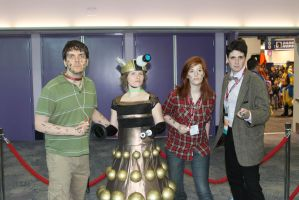 WC13-Dr Who Group 1 by moonymonster