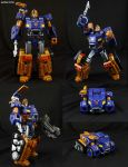 Custom Transformers Impactor Figure by Jin-Saotome