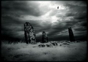 Glengorm Standing Stones by ArwensGrace