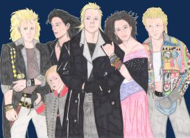 The Lost Boys and Girl by Haveba25