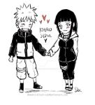 chibi-naruhina by demonic-black-cat
