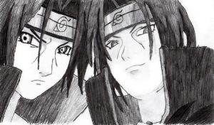 Itachi by chickenlady4321