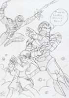 Marvel Disc Wars: Party Time by BlueIke