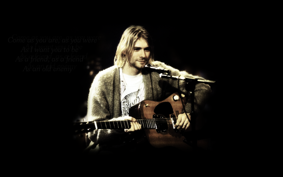 Kurt Cobain Wallpaper by foundmynirvana
