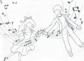 Carrying You Through the Music by EnvisageIt