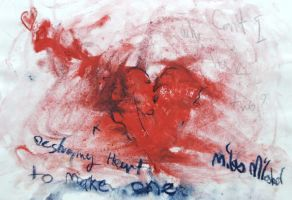 Destrying 1 heart to make one by Mools