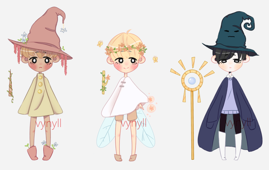 Wizard Boys Adopt 2/3 [Set Price Open] by vynyll