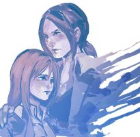 Christa x Ymir by thestarofpisces