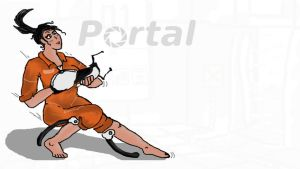 Chell -Portal- by 0Some-weirdGuy0
