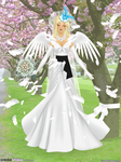 Bell Wedding Gown by 14ladybuggirl