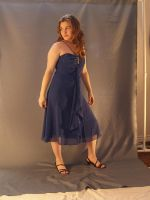 Blue Party Dress 1 by RLDStock