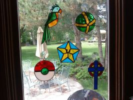 Stained Glass collection by SpyrotheBadassDragon