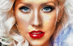 Christina Aguilera by RHuggs