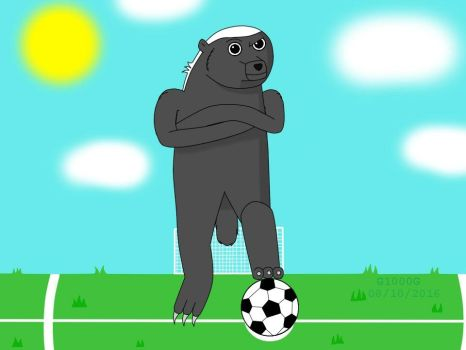 Soccer with Hector. (update) by Gabriel1000grau