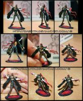Bayonetta miniature figure by Daelyth