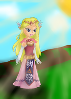 Spirit Tracks Princess Zelda by lollypop081