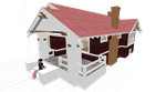MMD Small House +DL by nekovampire95