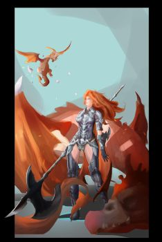 Dragon hunter by luciole-huynh