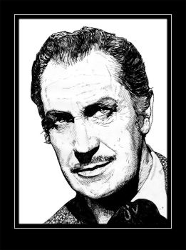 Vincent Price by Eldrtich1111