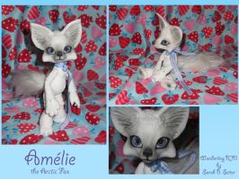 Amelie the Arctic Fox by Renegar-Kitsune