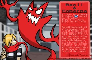 Basil and Echarpe Bio by BrokenTeapot