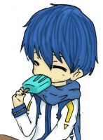 Kaito COLORED by pumkinpie3