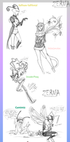 Point commissions Batch 1 by Zerna