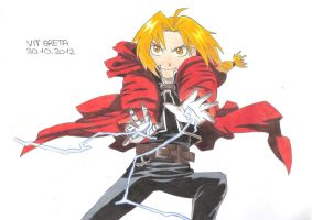 Edward Elric by Jelly9614